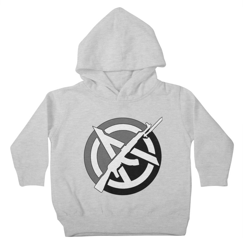 Agorist Anarchy Kids Toddler Pullover Hoody by Black Market Designs