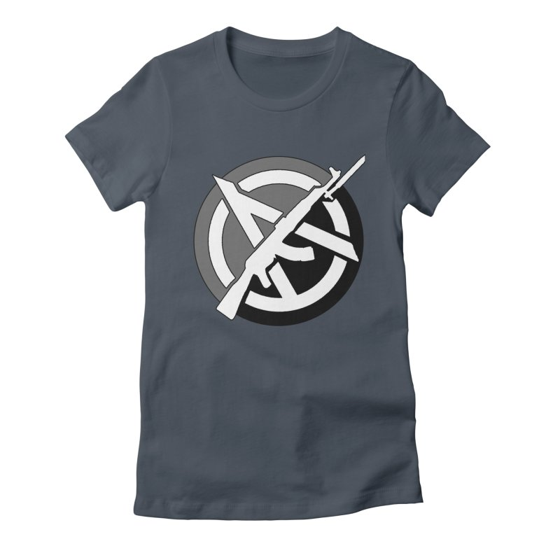 Agorist Anarchy Women's T-Shirt by Black Market Designs