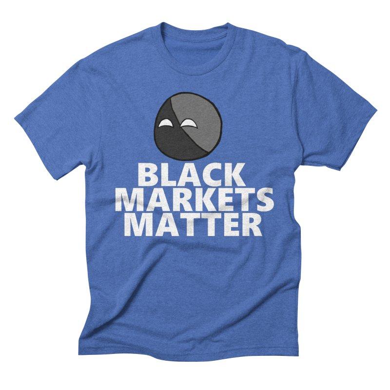 Black Markets Matter Agoristball Men's T-Shirt by Black Market Designs