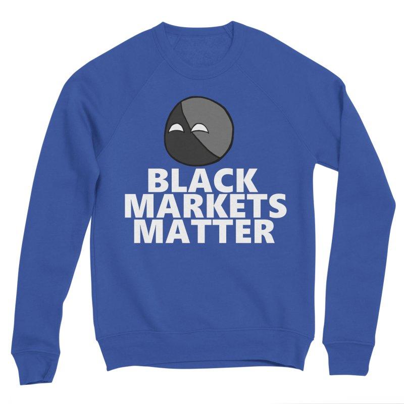 Black Markets Matter Agoristball Men's Sweatshirt by Black Market Designs