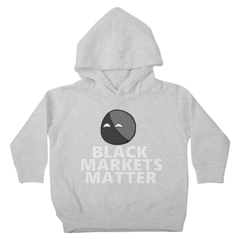 Black Markets Matter Agoristball Kids Toddler Pullover Hoody by Black Market Designs
