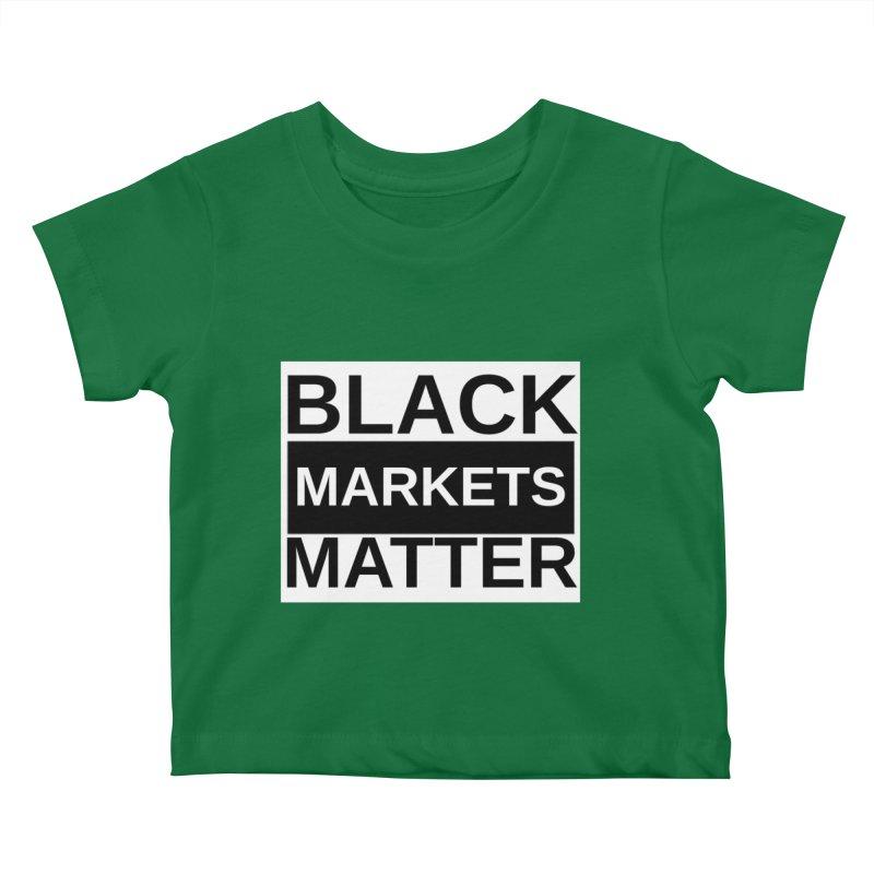 Black Markets Matter Kids Baby T-Shirt by Black Market Designs