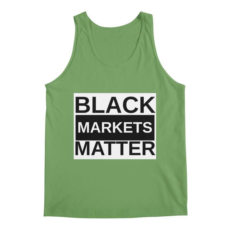 Black Markets Matter Men's Tank by Black Market Designs