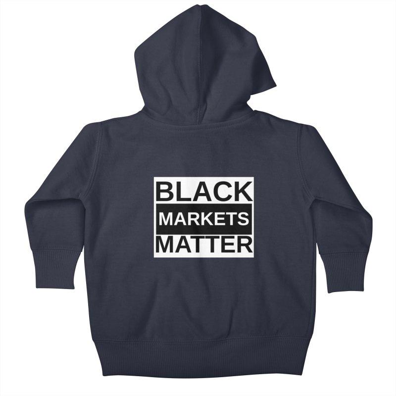 Black Markets Matter Kids Baby Zip-Up Hoody by Black Market Designs