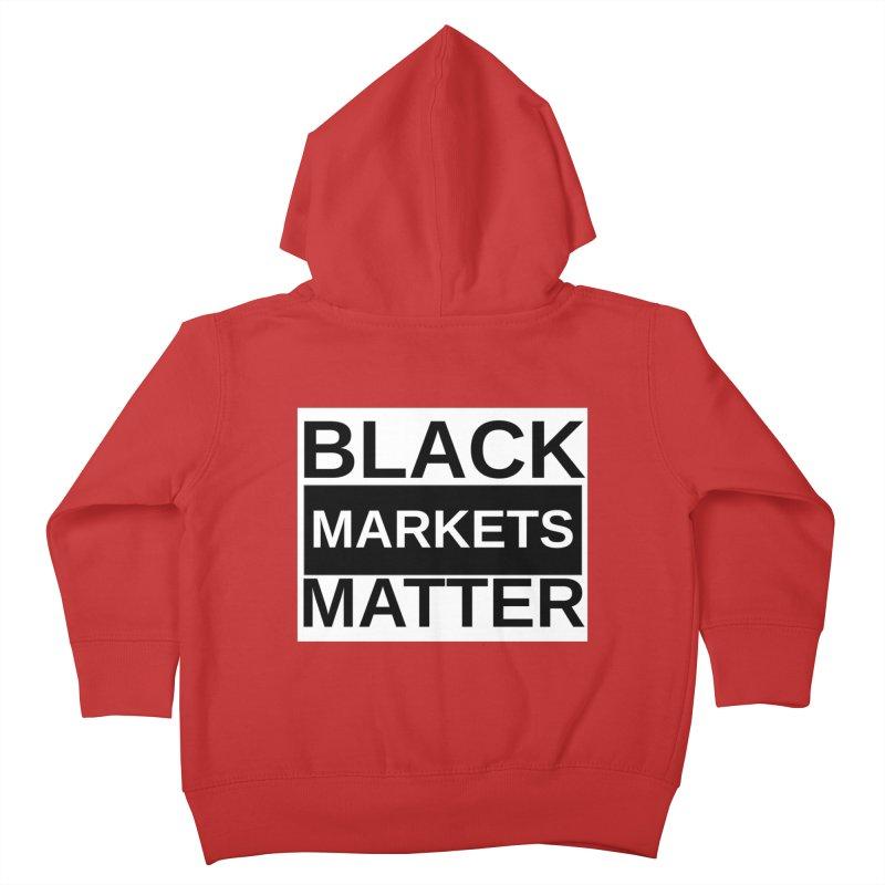 Black Markets Matter Kids Toddler Zip-Up Hoody by Black Market Designs