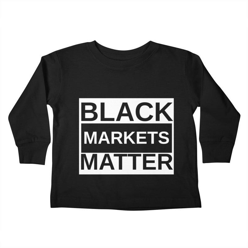 Black Markets Matter Kids Toddler Longsleeve T-Shirt by Black Market Designs