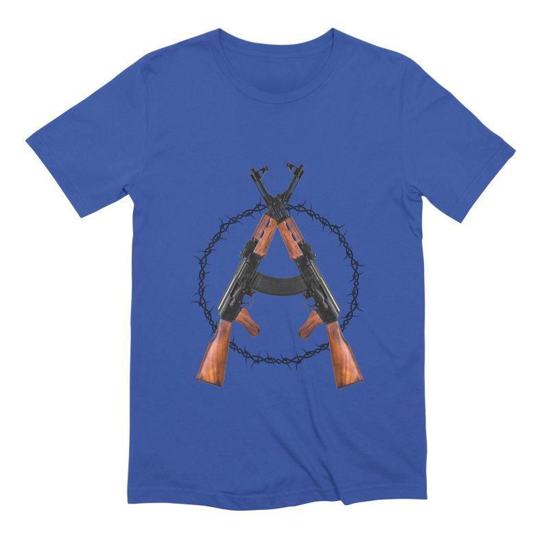 Anarchy AK Men's T-Shirt by Black Market Designs