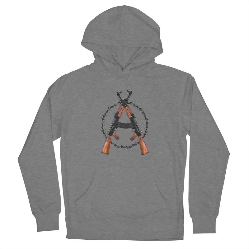 Anarchy AK Women's Pullover Hoody by Black Market Designs