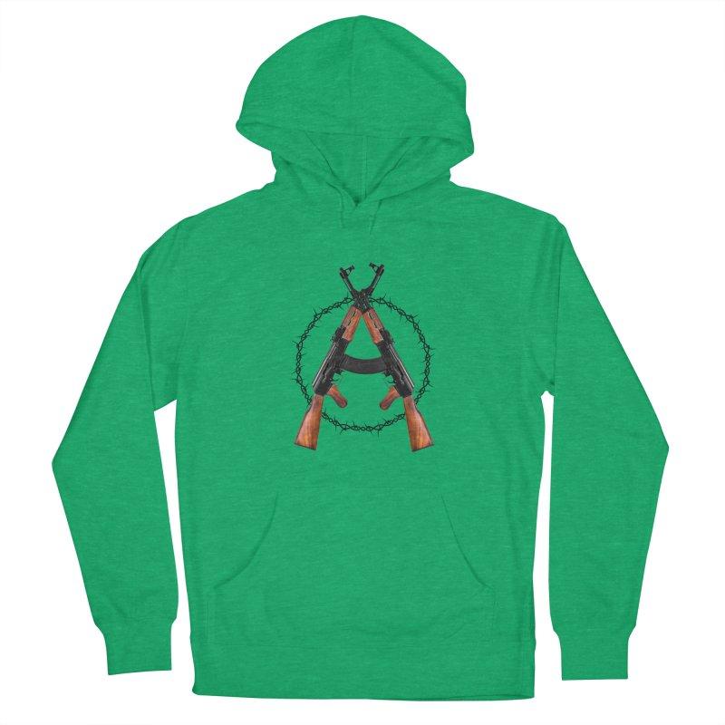 Anarchy AK Women's Pullover Hoody by Black Market Designs