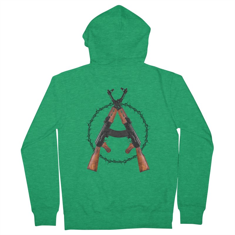 Anarchy AK Women's Zip-Up Hoody by Black Market Designs