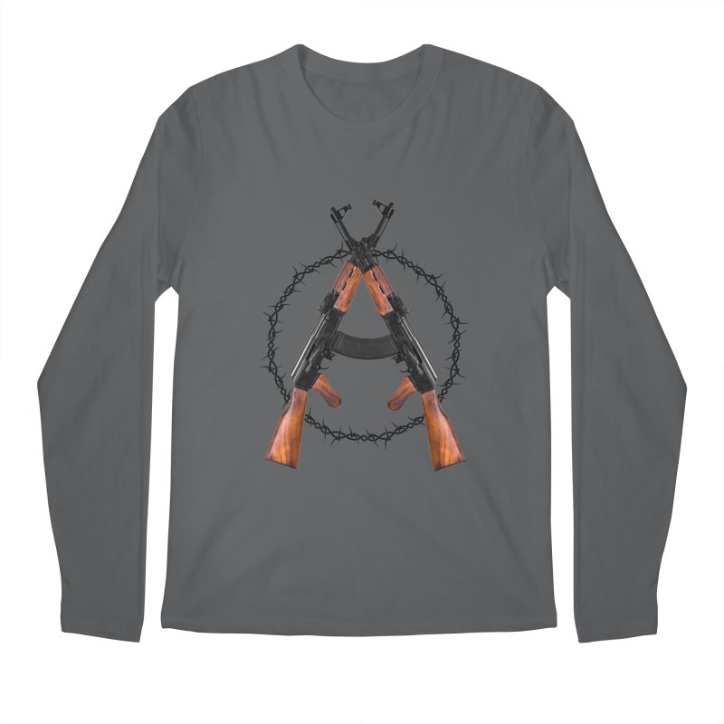 Anarchy AK Men's Longsleeve T-Shirt by Black Market Designs
