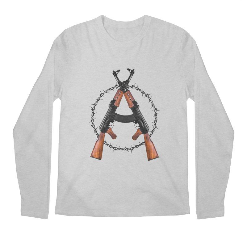 Anarchy AK Men's Longsleeve T-Shirt by Black Market Designs