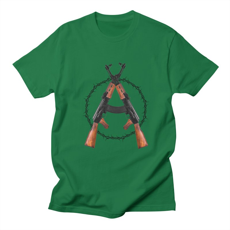 Anarchy AK Men's T-Shirt by Black Market Designs