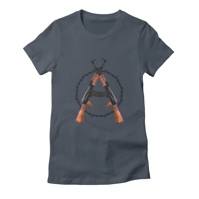 Anarchy AK Women's T-Shirt by Black Market Designs