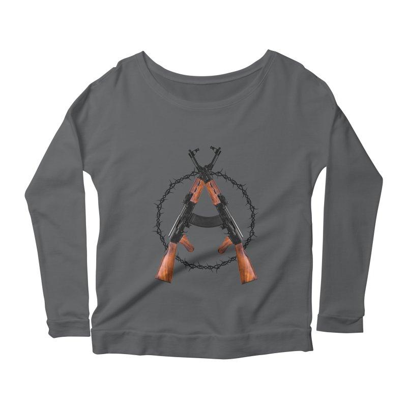Anarchy AK Women's Longsleeve T-Shirt by Black Market Designs