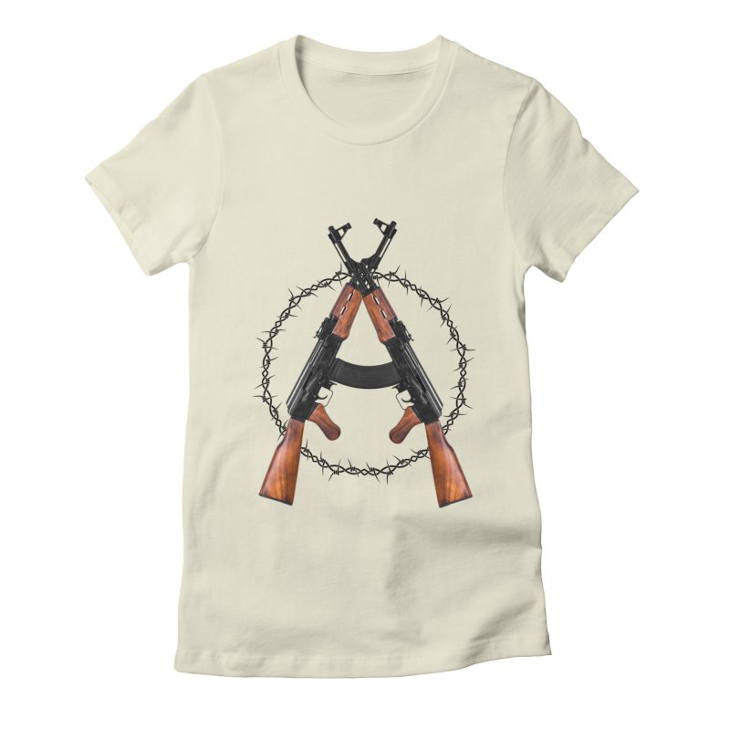 Anarchy AK Women's T-Shirt by Black Market Designs
