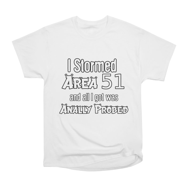 Alien 51 Women's T-Shirt by Black Market Designs