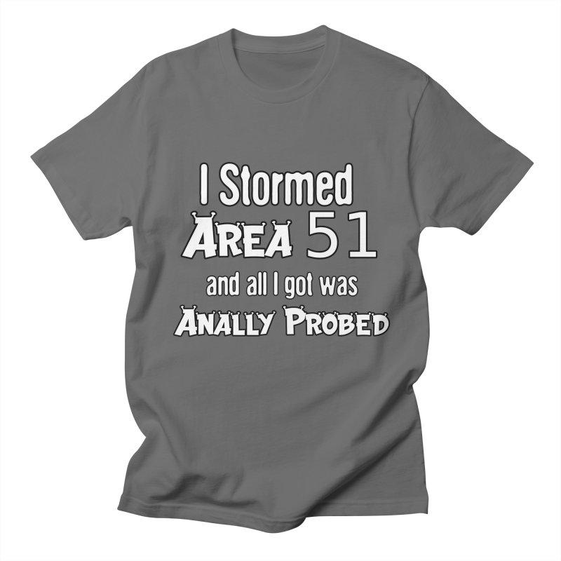 Alien 51 Men's T-Shirt by Black Market Designs