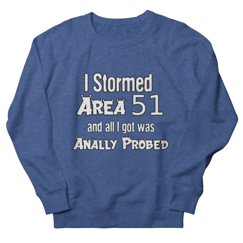 Alien 51 Men's Sweatshirt by Black Market Designs