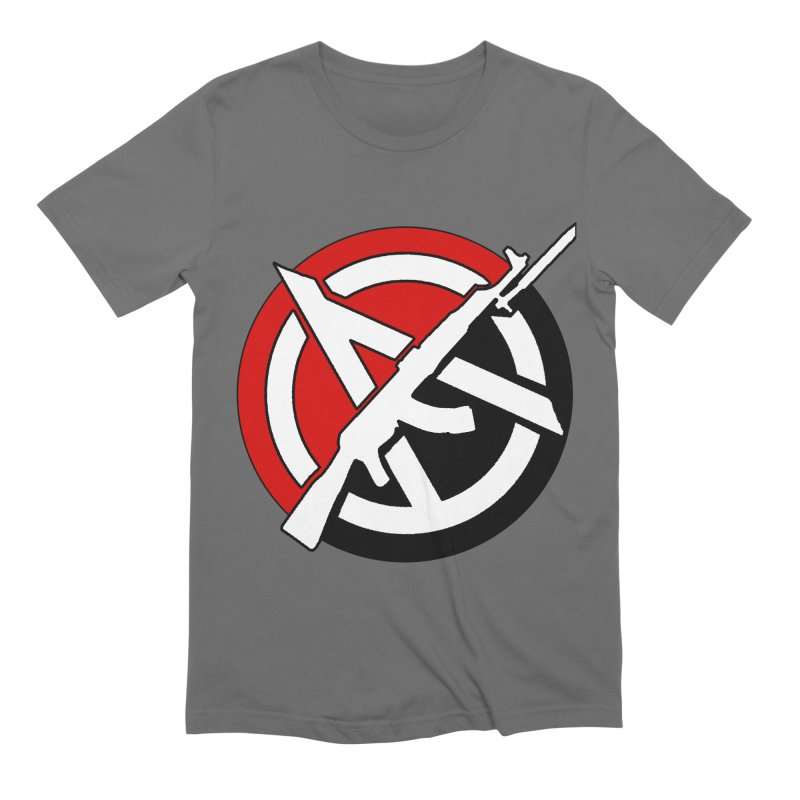 Ancom Anarchy Men's T-Shirt by Black Market Designs