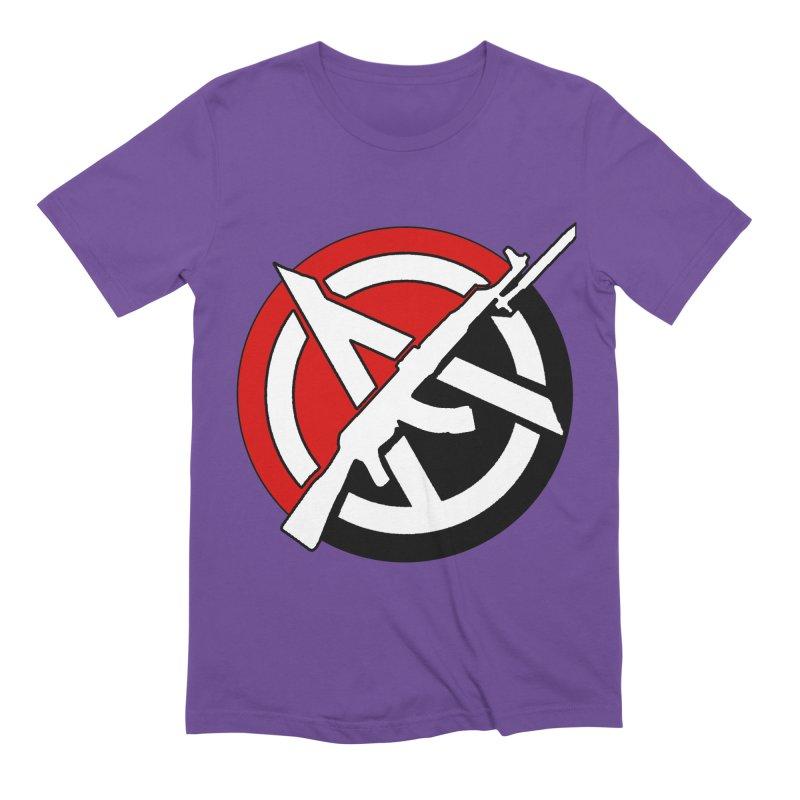 Ancom Anarchy Men's T-Shirt by Black Market Designs