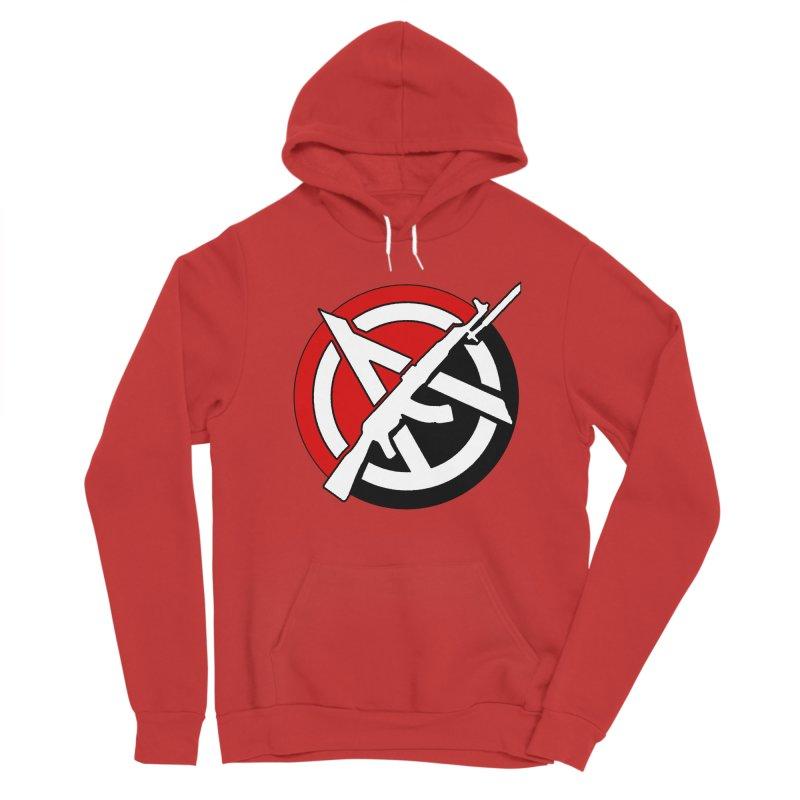 Ancom Anarchy Men's Pullover Hoody by Black Market Designs