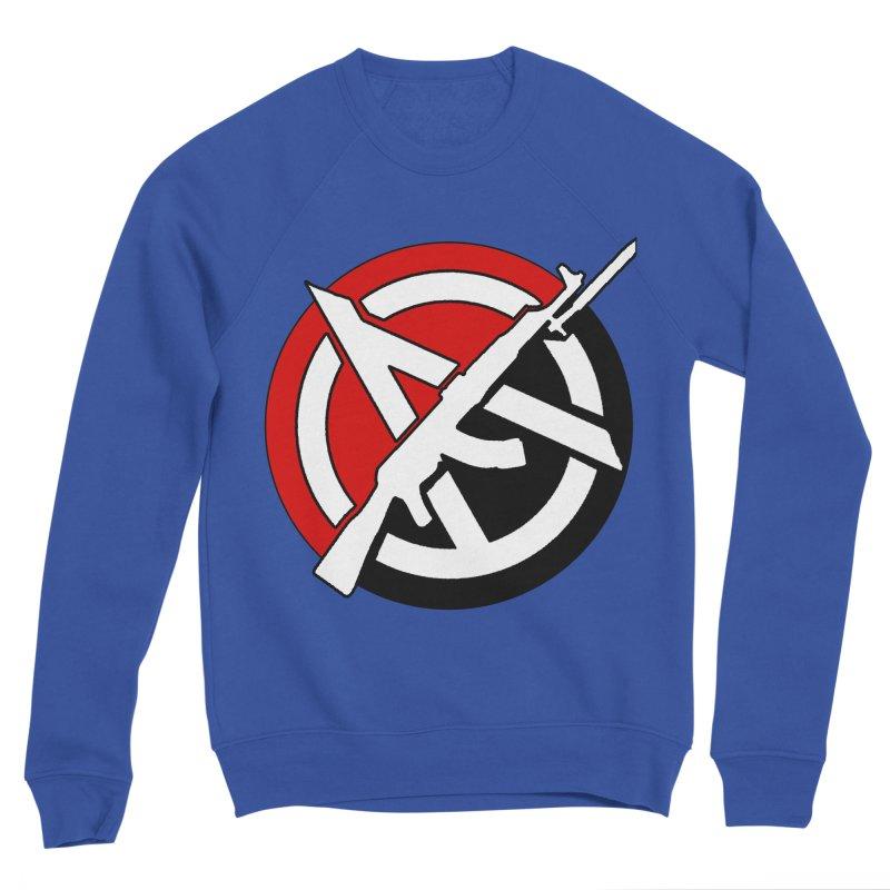 Ancom Anarchy Men's Sweatshirt by Black Market Designs