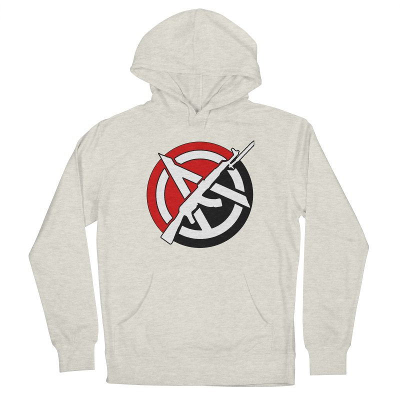 Ancom Anarchy Women's Pullover Hoody by Black Market Designs