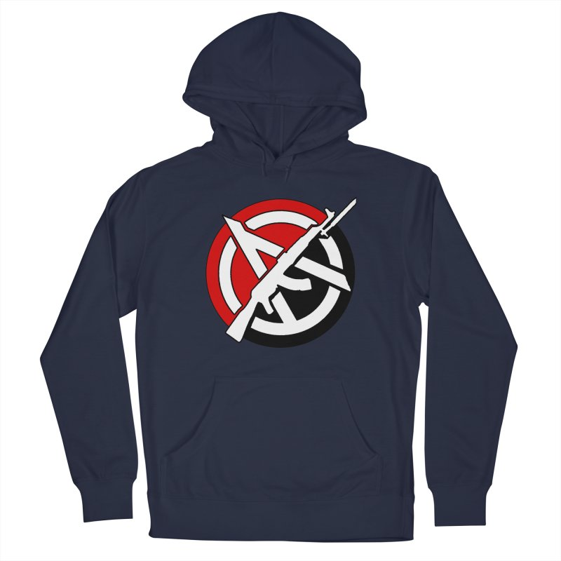Ancom Anarchy Men's Pullover Hoody by Black Market Designs