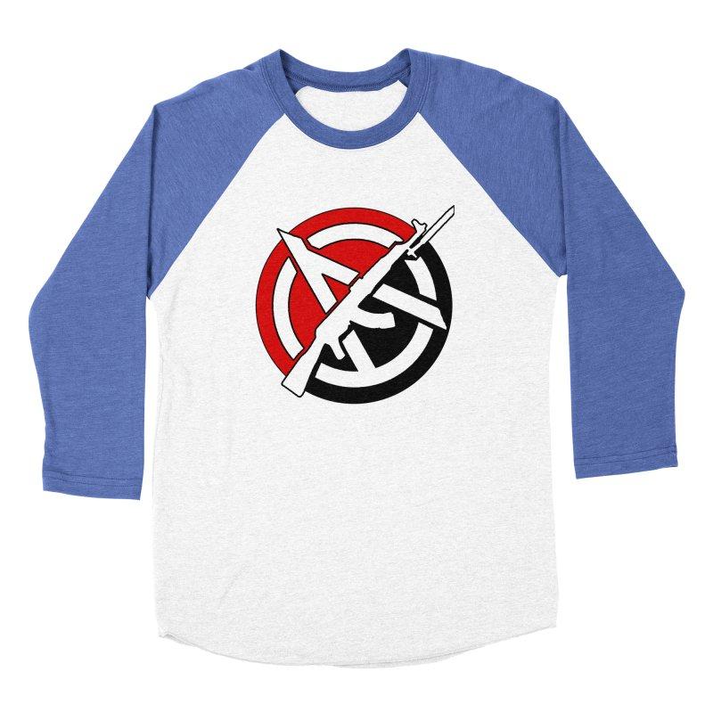 Ancom Anarchy Women's Longsleeve T-Shirt by Black Market Designs