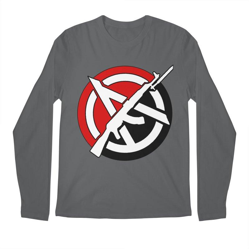 Ancom Anarchy Men's Longsleeve T-Shirt by Black Market Designs