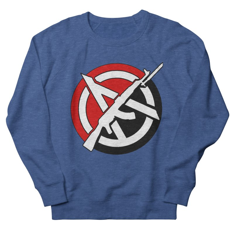 Ancom Anarchy Men's Sweatshirt by Black Market Designs