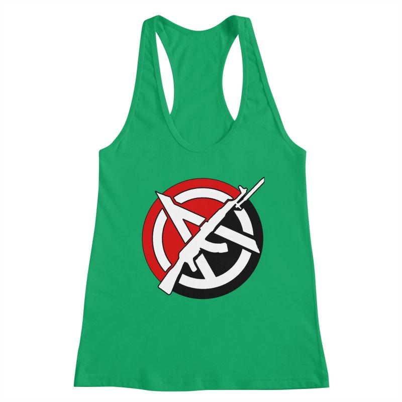 Ancom Anarchy Women's Tank by Black Market Designs