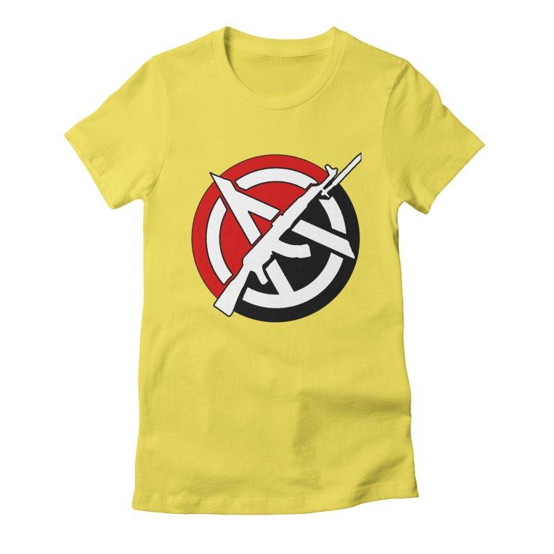 Ancom Anarchy Women's T-Shirt by Black Market Designs
