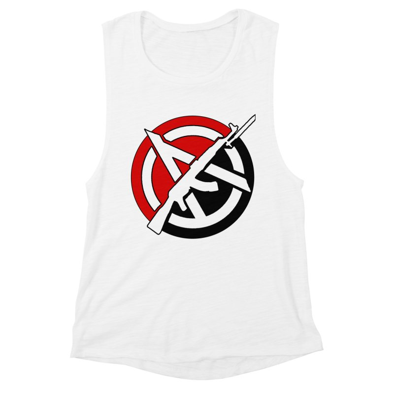 Ancom Anarchy Women's Tank by Black Market Designs