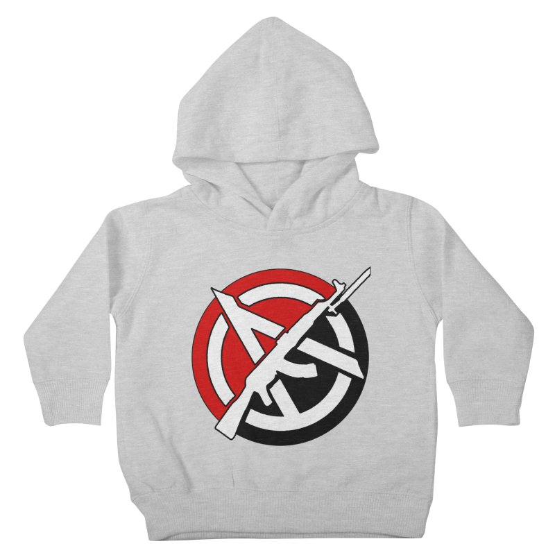 Ancom Anarchy Kids Toddler Pullover Hoody by Black Market Designs