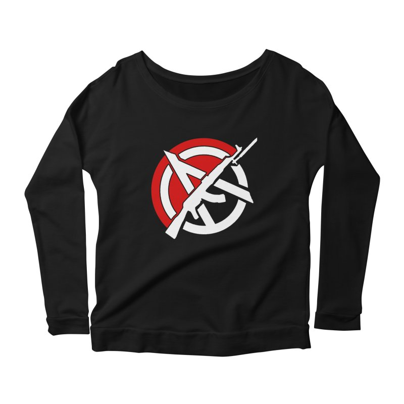 Ancom Anarchy Women's Longsleeve T-Shirt by Black Market Designs