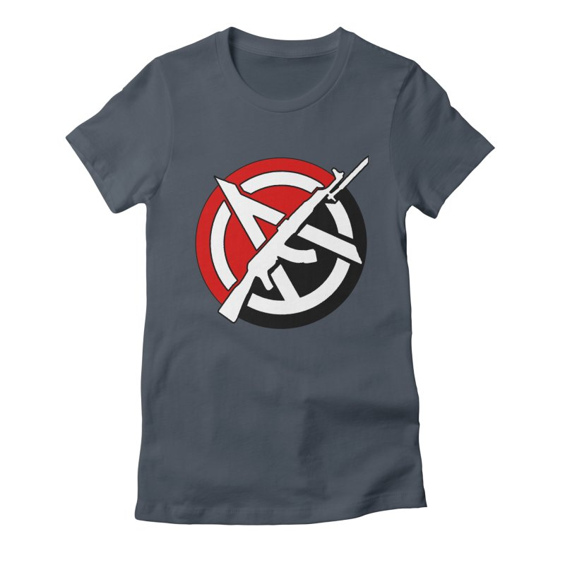 Ancom Anarchy Women's T-Shirt by Black Market Designs