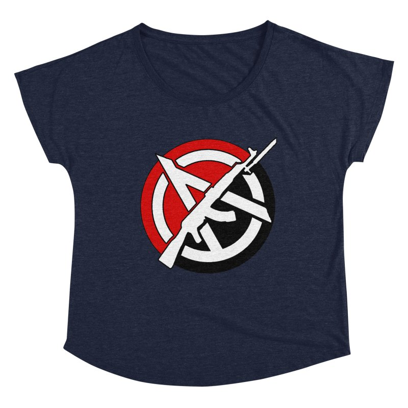 Ancom Anarchy Women's Scoop Neck by Black Market Designs