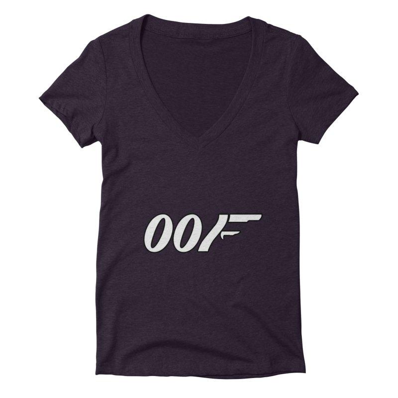 Oof Women's V-Neck by Black Market Designs