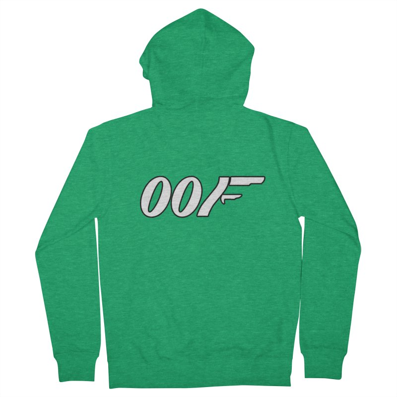 Oof Women's Zip-Up Hoody by Black Market Designs