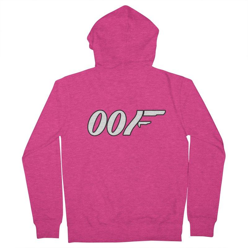 Oof Women's Zip-Up Hoody by Black Market Designs