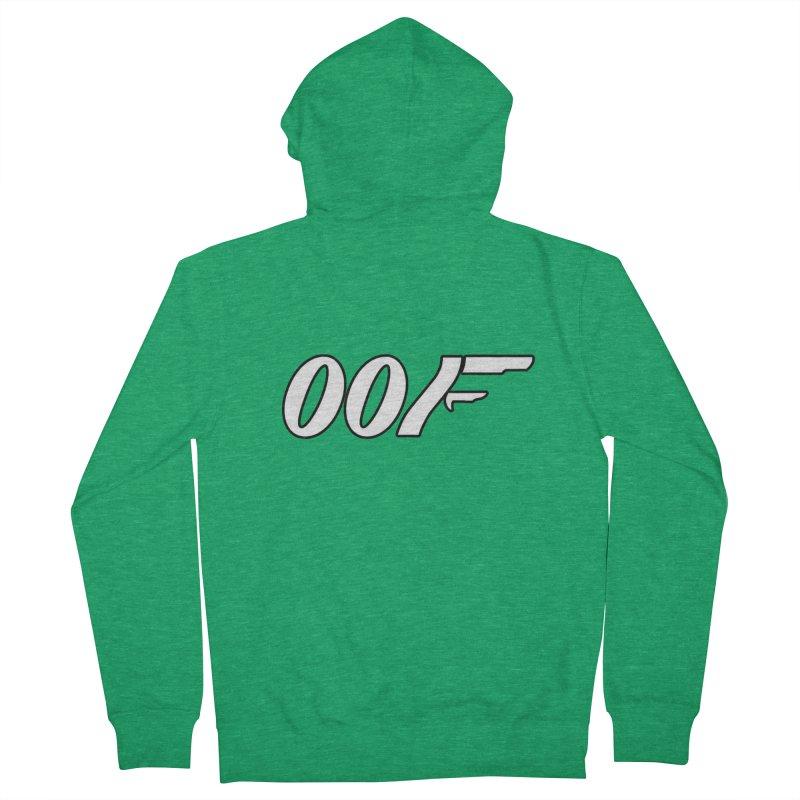 Oof Men's Zip-Up Hoody by Black Market Designs
