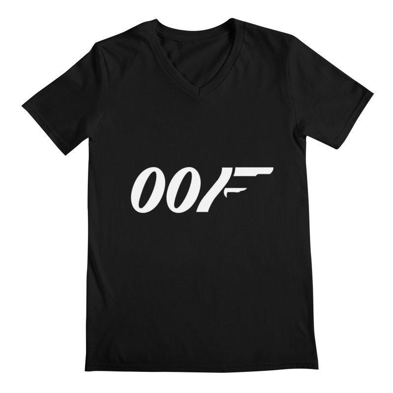 Oof Men's V-Neck by Black Market Designs