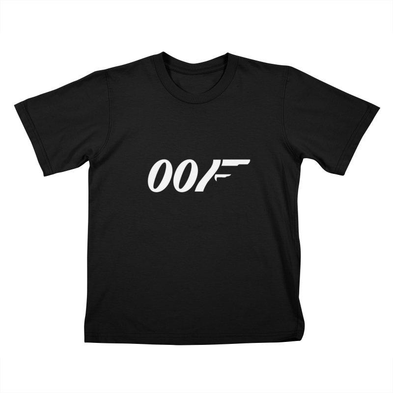 Oof Kids T-Shirt by Black Market Designs
