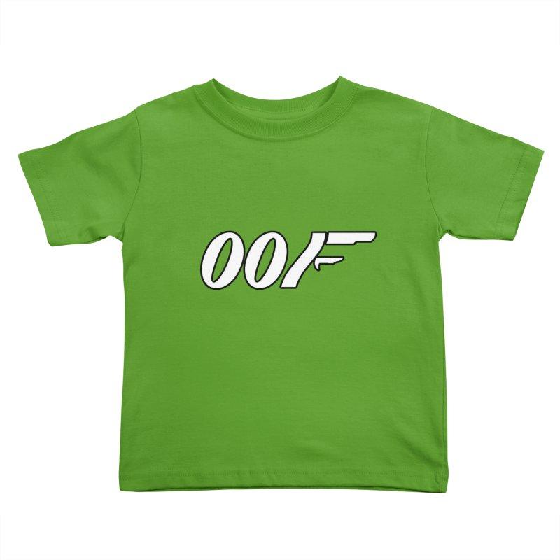 Oof Kids Toddler T-Shirt by Black Market Designs
