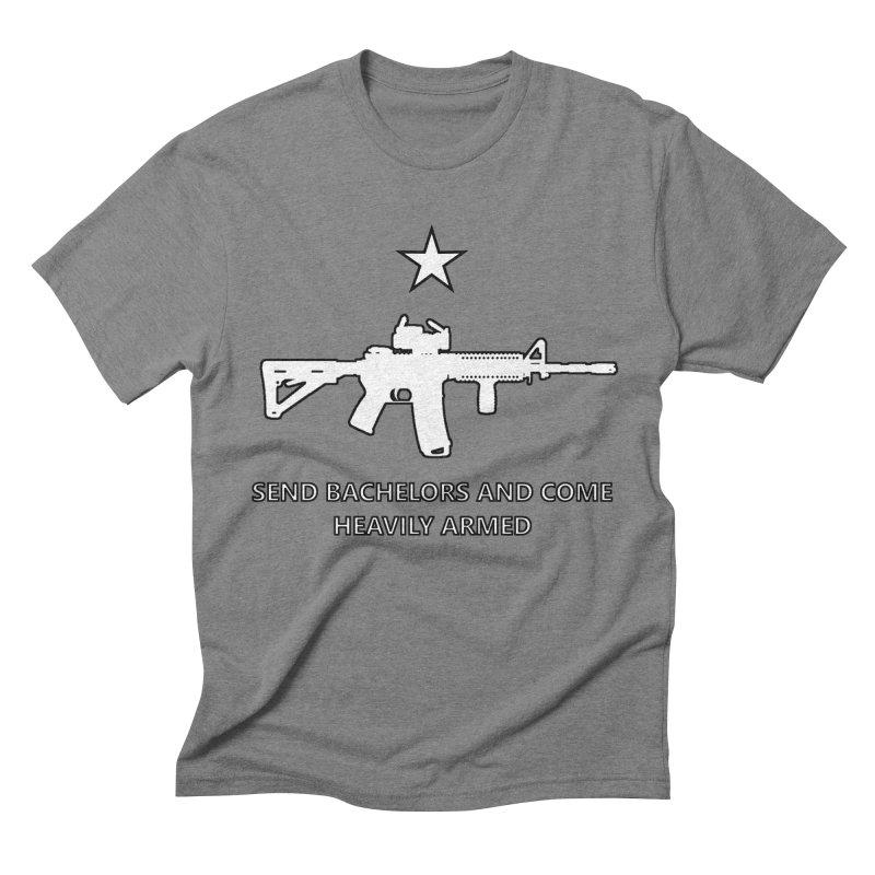Send Bachelors Men's T-Shirt by Black Market Designs