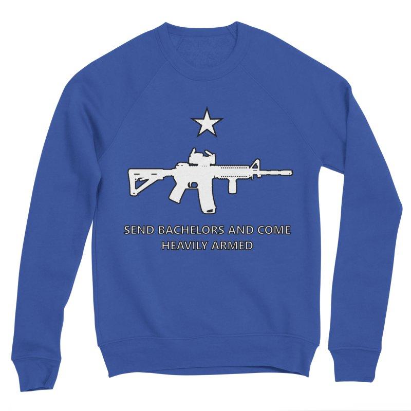 Send Bachelors Men's Sweatshirt by Black Market Designs