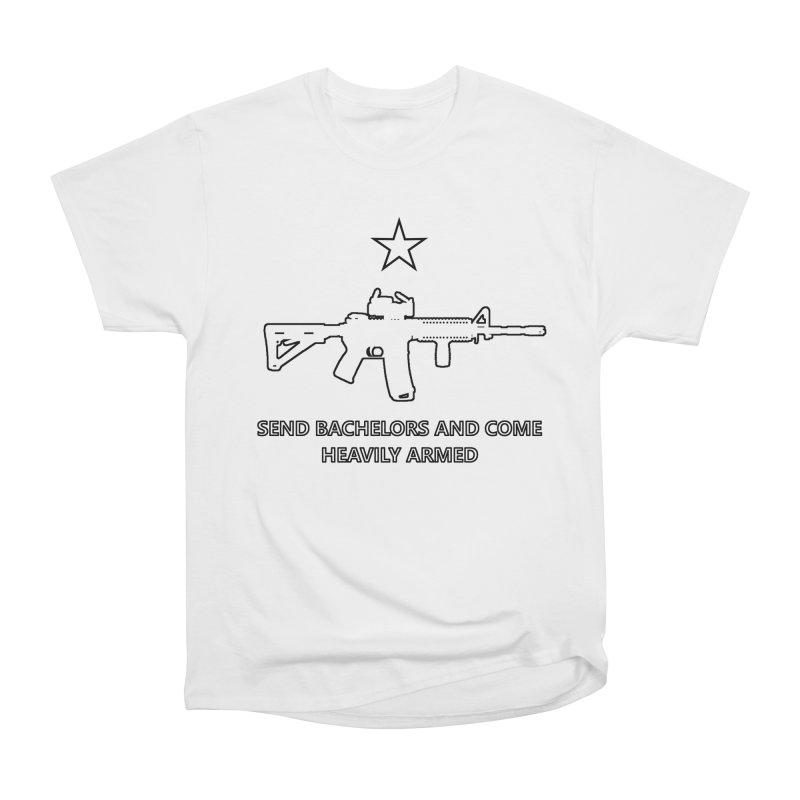 Send Bachelors Women's T-Shirt by Black Market Designs
