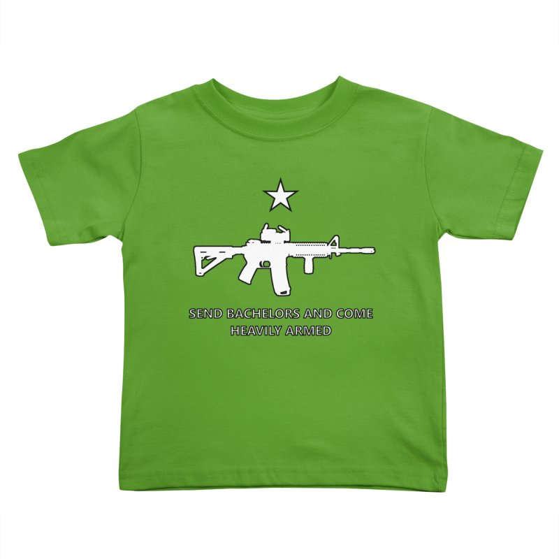 Send Bachelors Kids Toddler T-Shirt by Black Market Designs